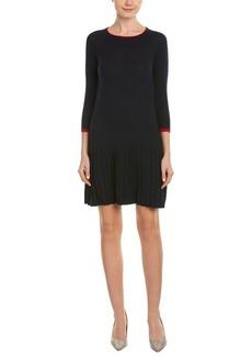 Shoshanna Shoshanna Wool-Blend A-Line Dress
