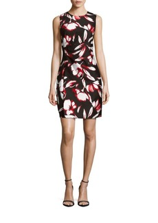 Shoshanna Sleeveless Floral Dress
