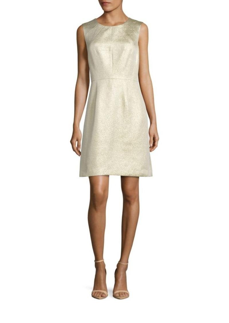 Shoshanna Sleeveless Jacquard Dress