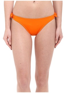 Shoshanna Solid Papaya Bow Bottoms