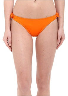 Solid Papaya Bow Bottoms