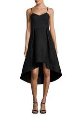 SHOSHANNA Textured Hi-Lo Party Dress