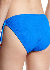 Shoshanna Textured Tie-Side Swim Bottom