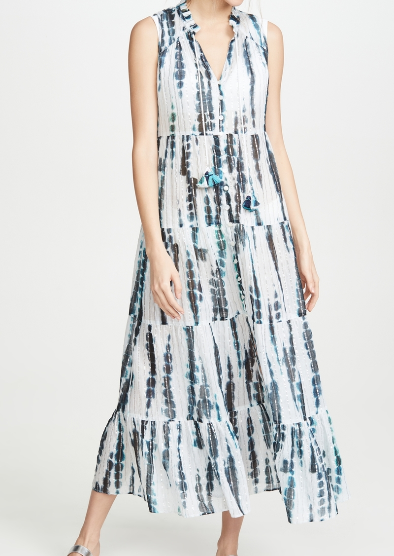 Shoshanna Tiered Midi Dress