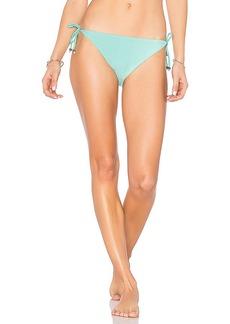 Shoshanna Triangle Bikini Bottom in Mint. - size L (also in S,M,XS)