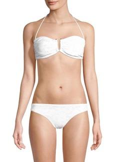Shoshanna U-Slide Bandeau Bikini Top