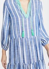 Shoshanna Umbrella Stripe Mini Dress