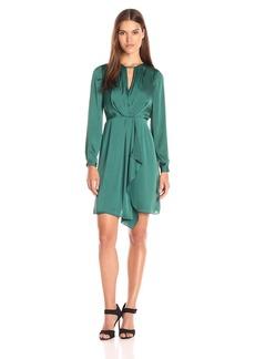 Shoshanna Women's Addison Dress-Drapey Satin