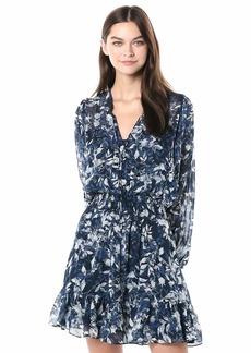 Shoshanna Women's Alura Dress Navy/Optic/Lapis