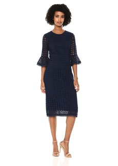 Shoshanna Women's Bluxome All Over Lace Sheath Dress