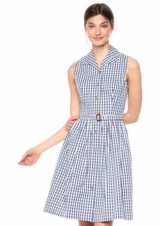 Shoshanna Women's Candide Dress Mint/White