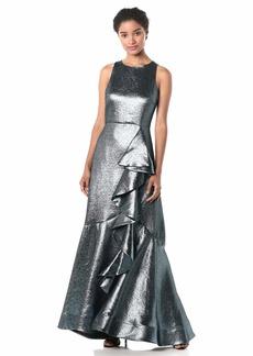 Shoshanna Women's Caroline Dress Blue/Jet Metallic