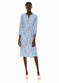 Shoshanna Women's Cosmes Dress Capri/Rose