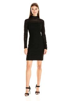 Shoshanna Women's Daria Dress-Geo Stretch Lace