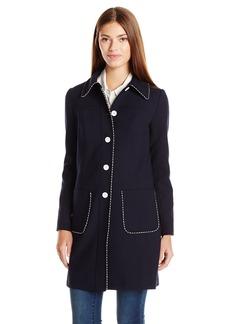 Shoshanna Women's Double Crepe Marian Jacket