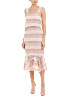 Shoshanna Women's Dunham Sleeveless Lace Shift Dress