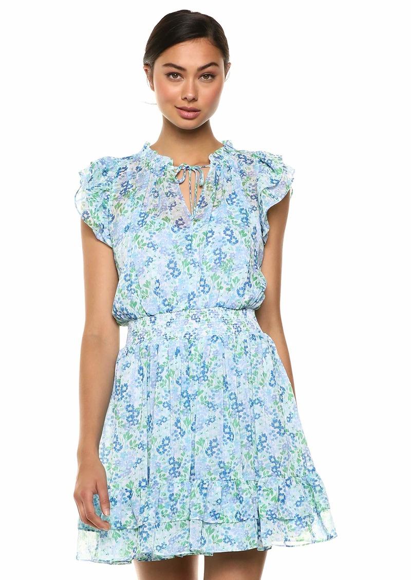 Shoshanna Women's Edelie Dress Blue/Green Multi