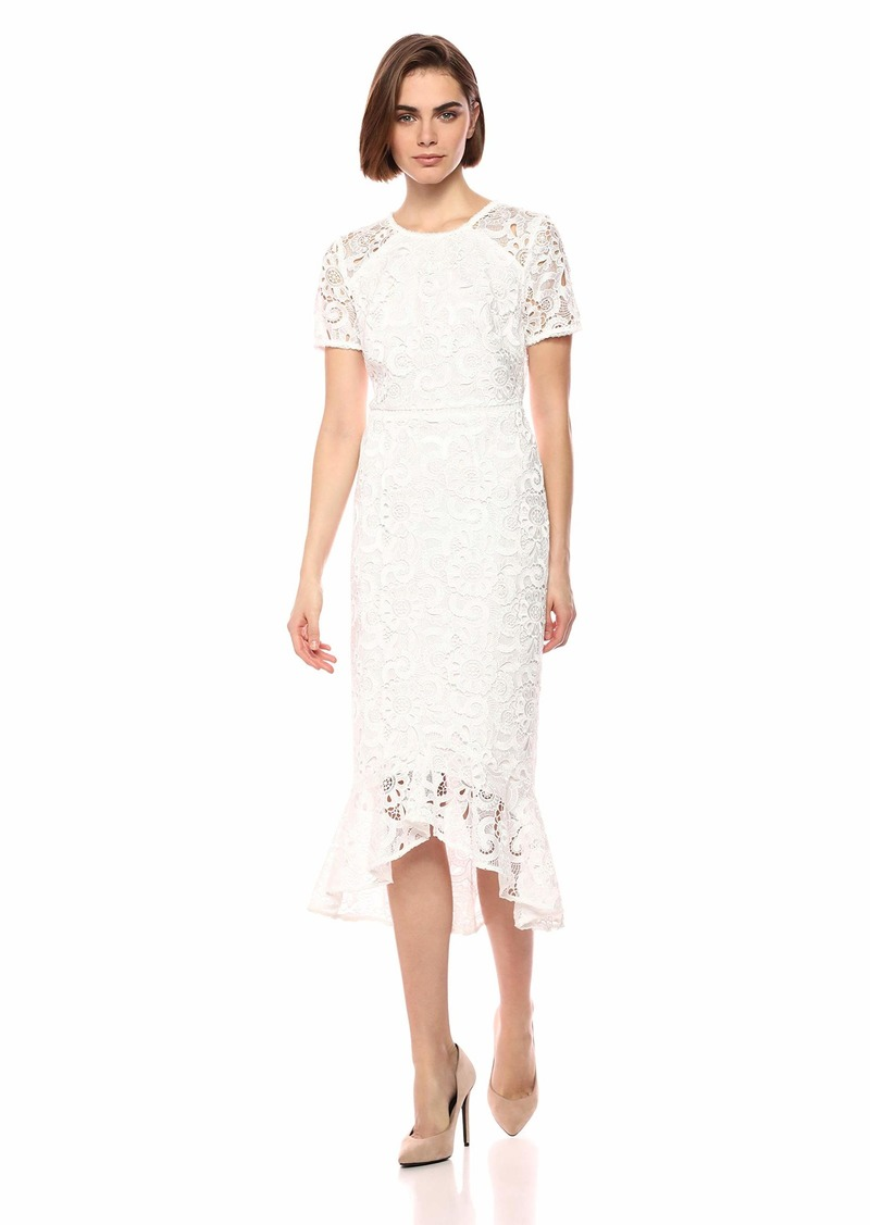 Shoshanna Women's Edgecombe High Low Dress