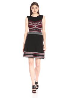 Shoshanna Women's Geo Knitwear Ava Dress