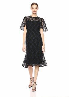 Shoshanna Women's Harmonia Short Sleeve Lace Dress
