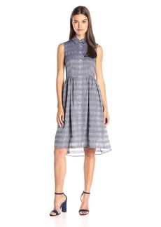 Shoshanna Women's Light-Weight Chambray Kassidy Dress