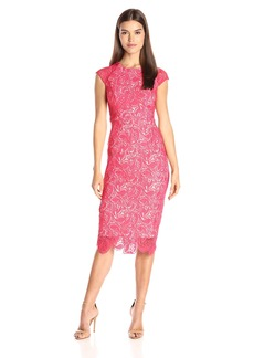 Shoshanna Women's Paisley Guipure Lace Elodie Dress