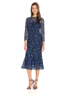 Shoshanna Women's Park Midi Dress