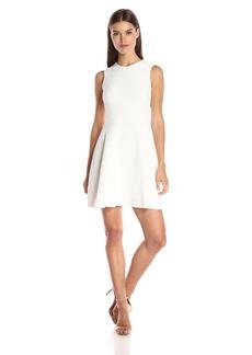 Shoshanna Women's Raised Geo Textured Knit Karen Dress