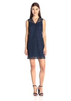 Shoshanna Women's Scroll Lace Teri Dress
