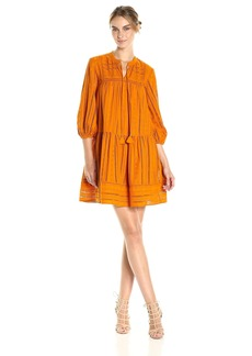 Shoshanna Women's Sunita Dress turmeric