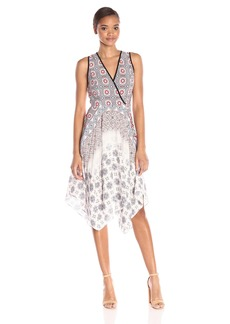 Shoshanna Women's Tiles Print Emmy Dress