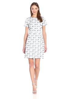 Shoshanna Women's Woven Stripe Intarsia Reilly Dress