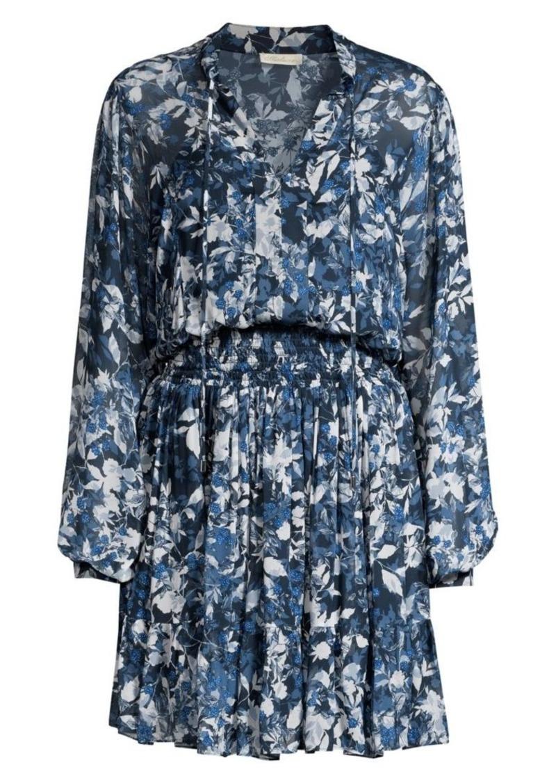 Shoshanna Sonoma Alura Printed Blouson Dress
