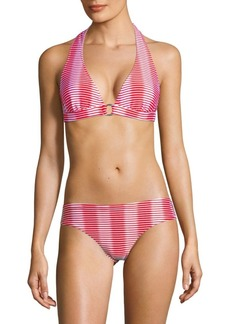 Shoshanna Striped Bikini Bottom
