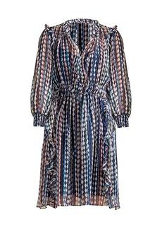 Shoshanna Suzette Diamond Stripe Dress