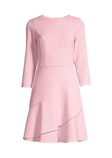 Shoshanna Tasha Ruffle Dress