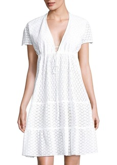 Tiered Shift Dress