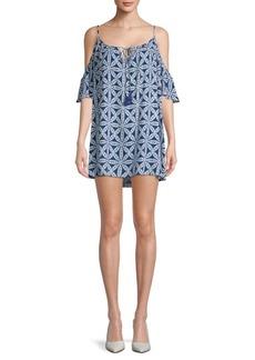 Show Me Your Mumu Bonaroo Cold-Shoulder Mini Dress