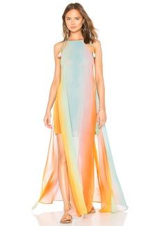 Show Me Your Mumu Bronte Tassel Maxi Dress