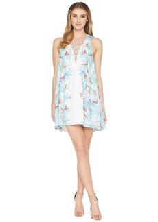 Show Me Your Mumu Daryn Lace-Up Dress
