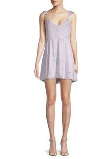 Show Me Your Mumu Delilah Ruffled Mini Dress