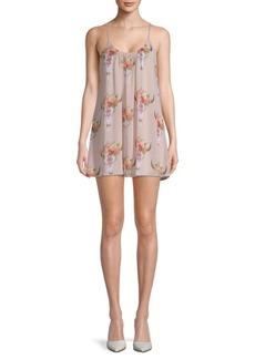 Show Me Your Mumu Frida Printed Mini Dress