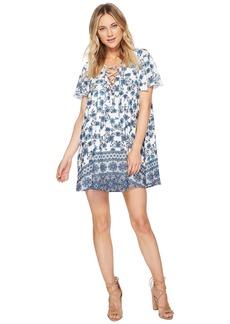 Show Me Your Mumu Kylie Lace-Up Dress