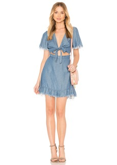 Show Me Your Mumu Melanie Ruffle Dress