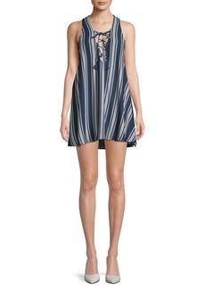 Show Me Your Mumu Rancho Mirage Lace-Up Dress