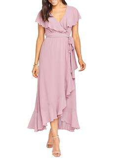 Show Me Your Mumu Jess Ruffle Maxi Dress
