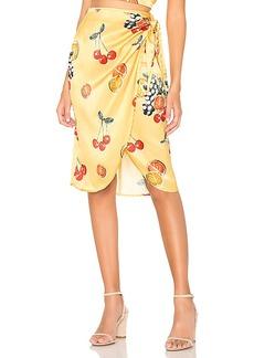 Show Me Your Mumu Anjolie Wrap Skirt