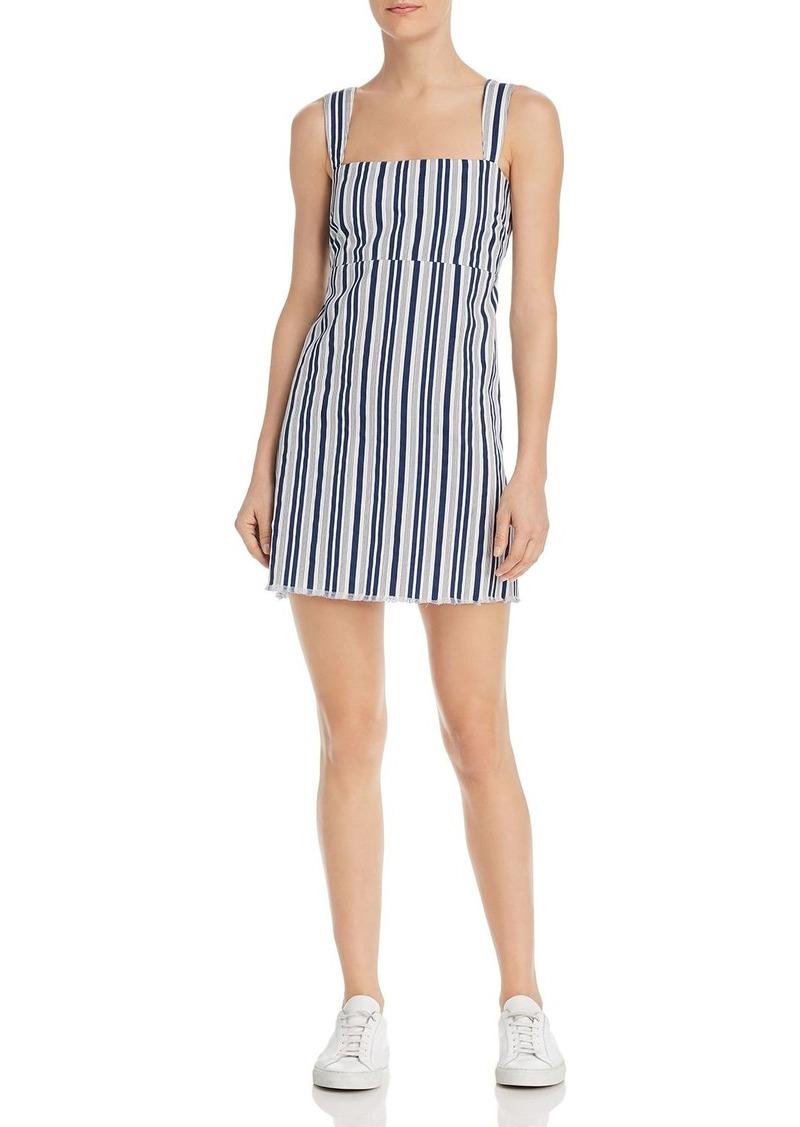 Show Me Your MuMu Aria Striped Mini Dress