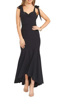 Show Me Your Mumu Barcelona Stretch Crepe Trumpet Gown