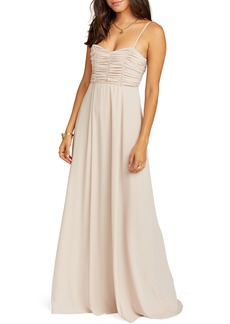 Show Me Your Mumu Bonbon Optional Strap Gown